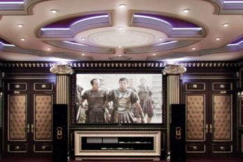 Стеновые панели для кинозалов, кинотеатров и клубов